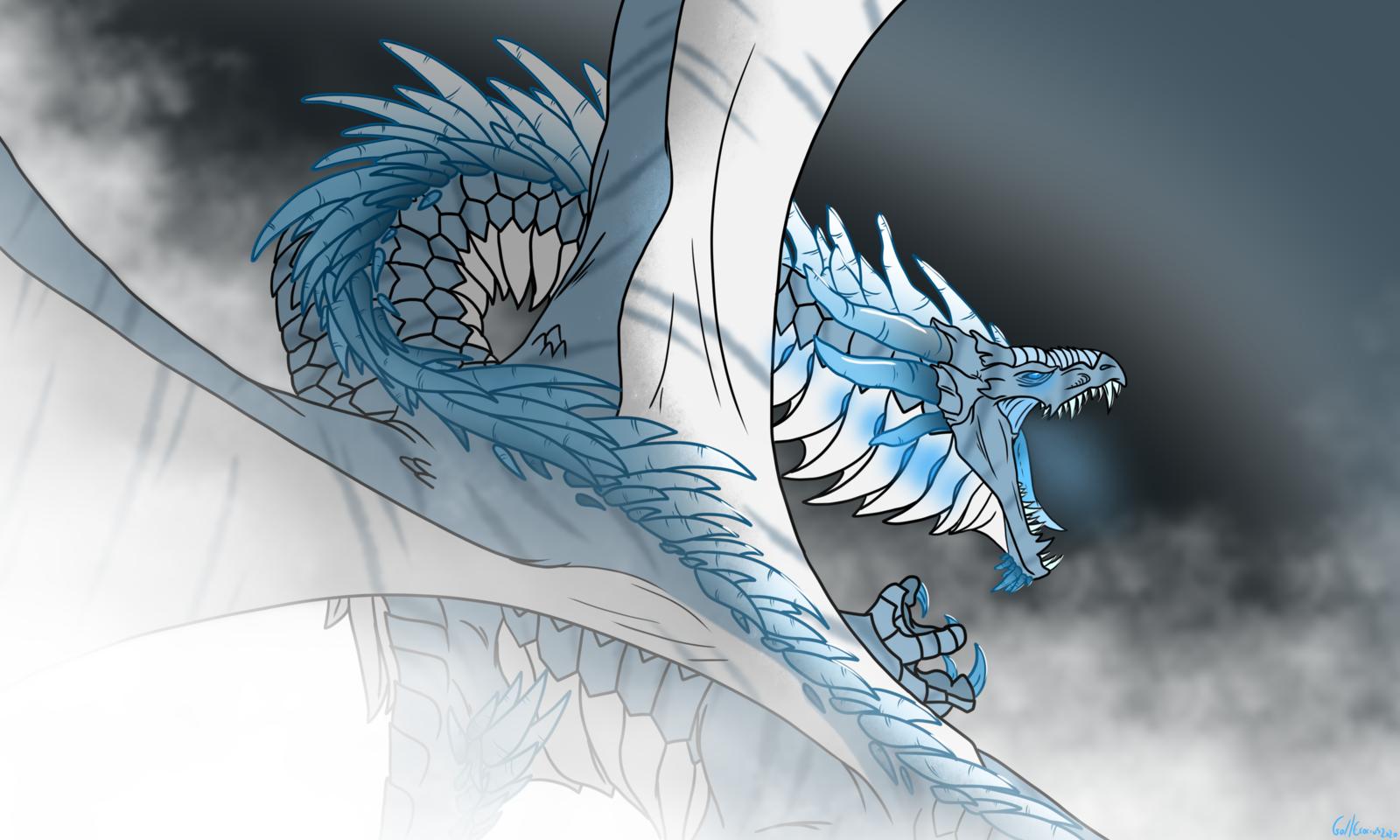Eldruedlar, Elder Dragon of Ice.